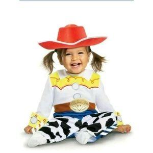 NEW Jessie Toy Story Disney Cowgirl Costume 6-12mo